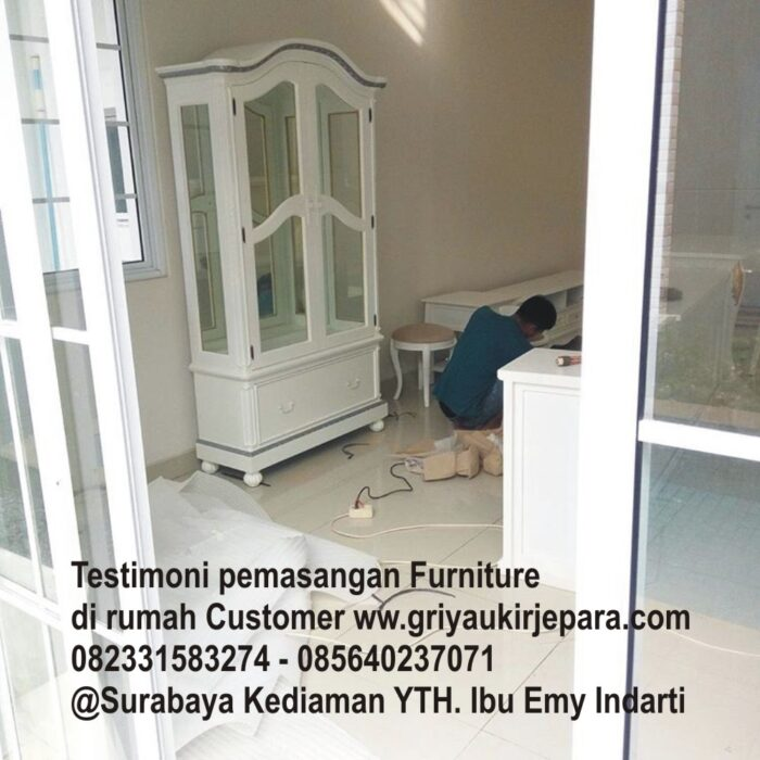 instalasi furniture - Testimoni Pemasangan Furniture