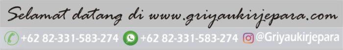 logo dan informasi kontak griya uir jepara