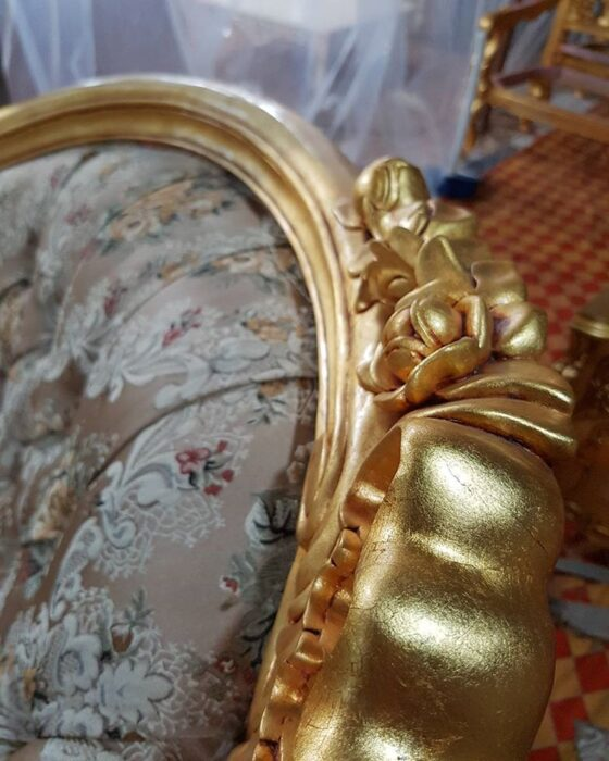 sample warna gold leaf - Sample Warna