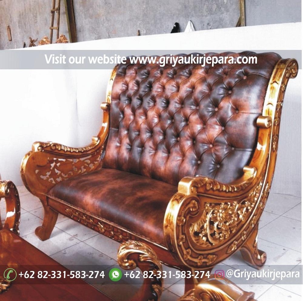 sofa ruang tamu mewah jepara kayu jati