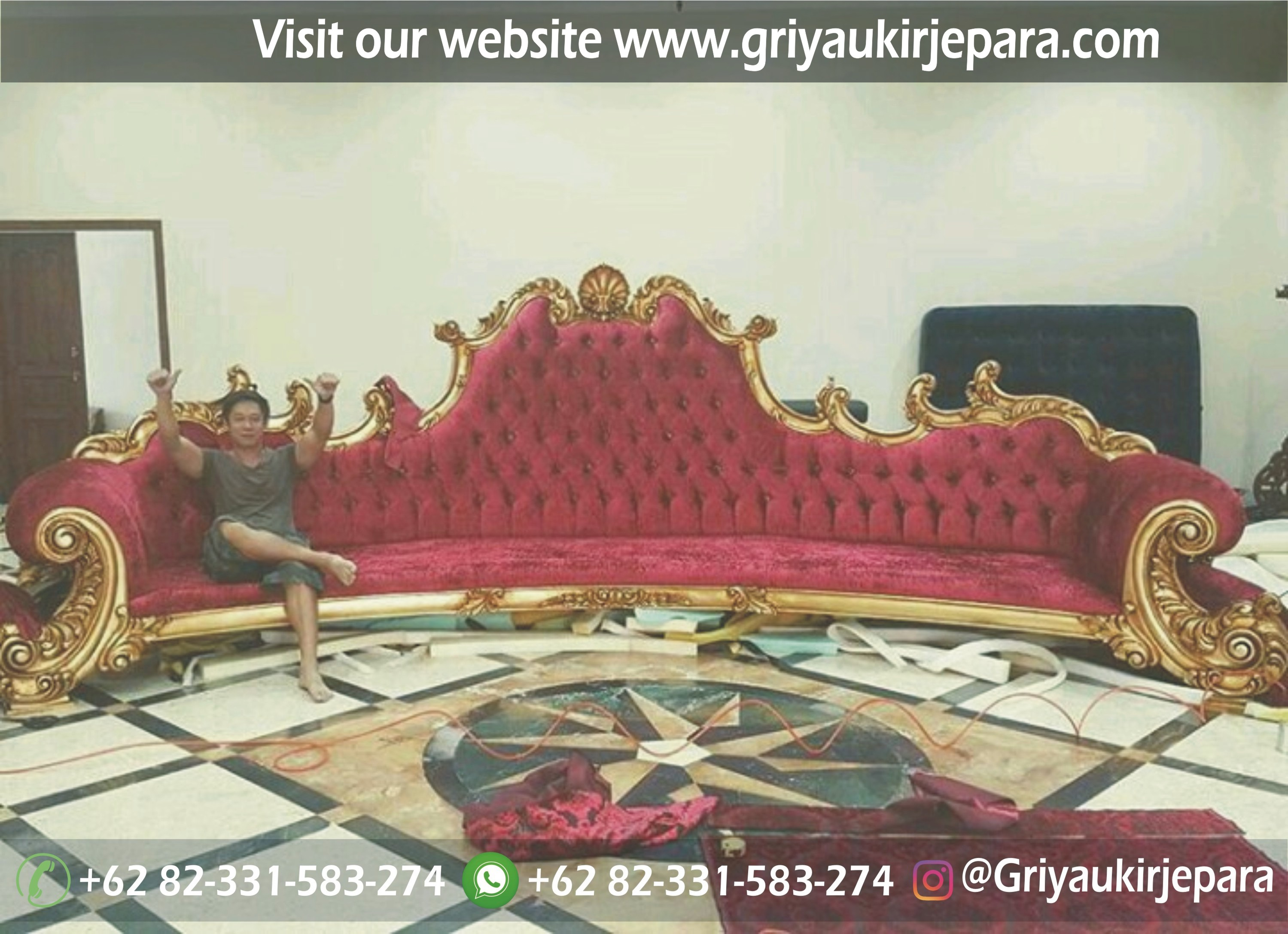 sofa royal jackson jumbo mewah