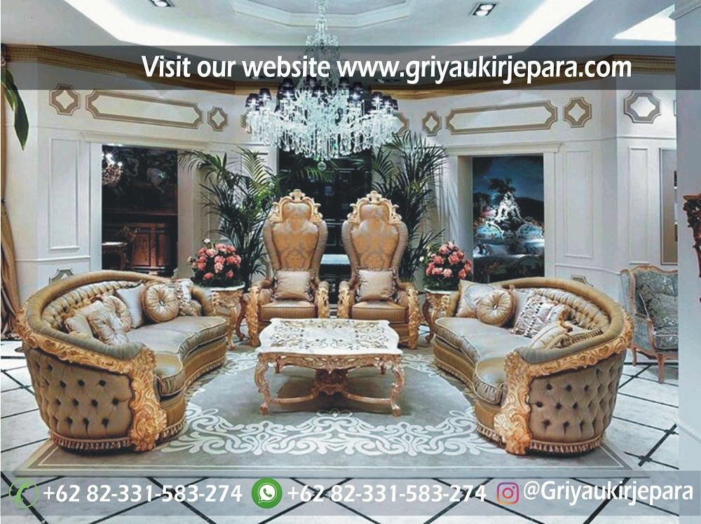 Sofa mewah 26 - 10 Model Sofa Ruang Tamu Kelas Mewah