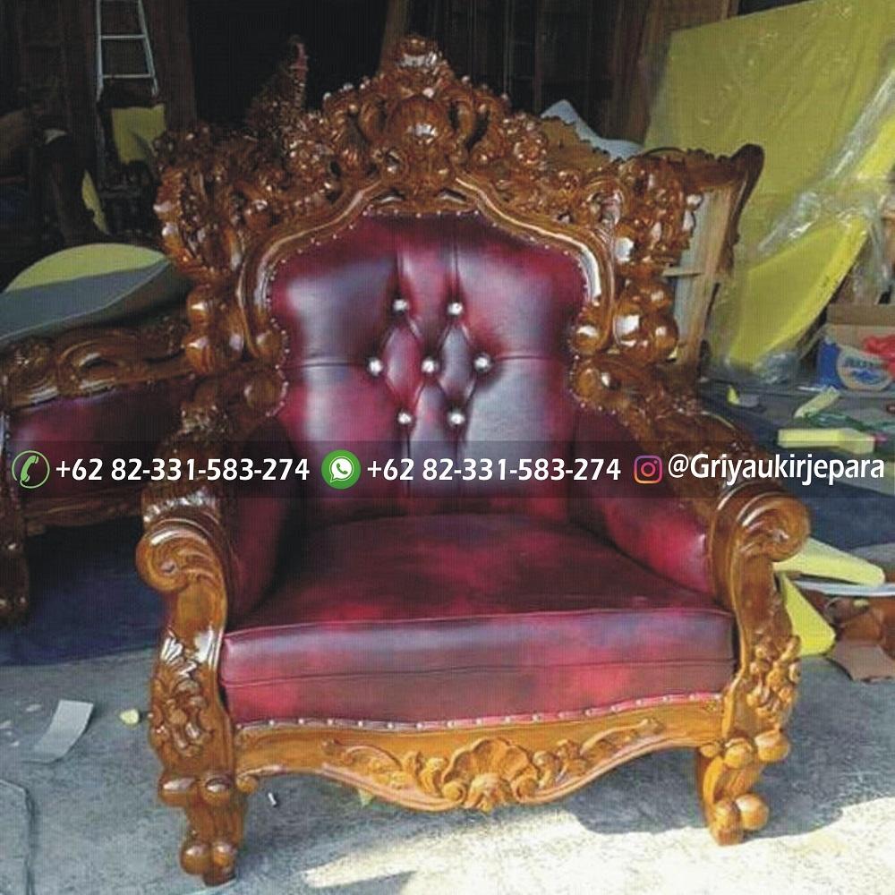Sofa mewah 27 - 10+ Sofa Ruang Tamu Jati Harga 8JTan