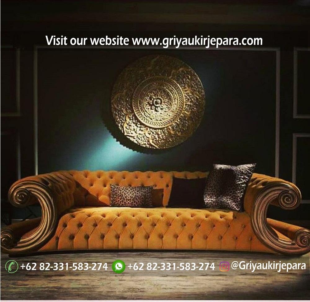 Sofa Ruang Tamu Jumbo Royal Mewah