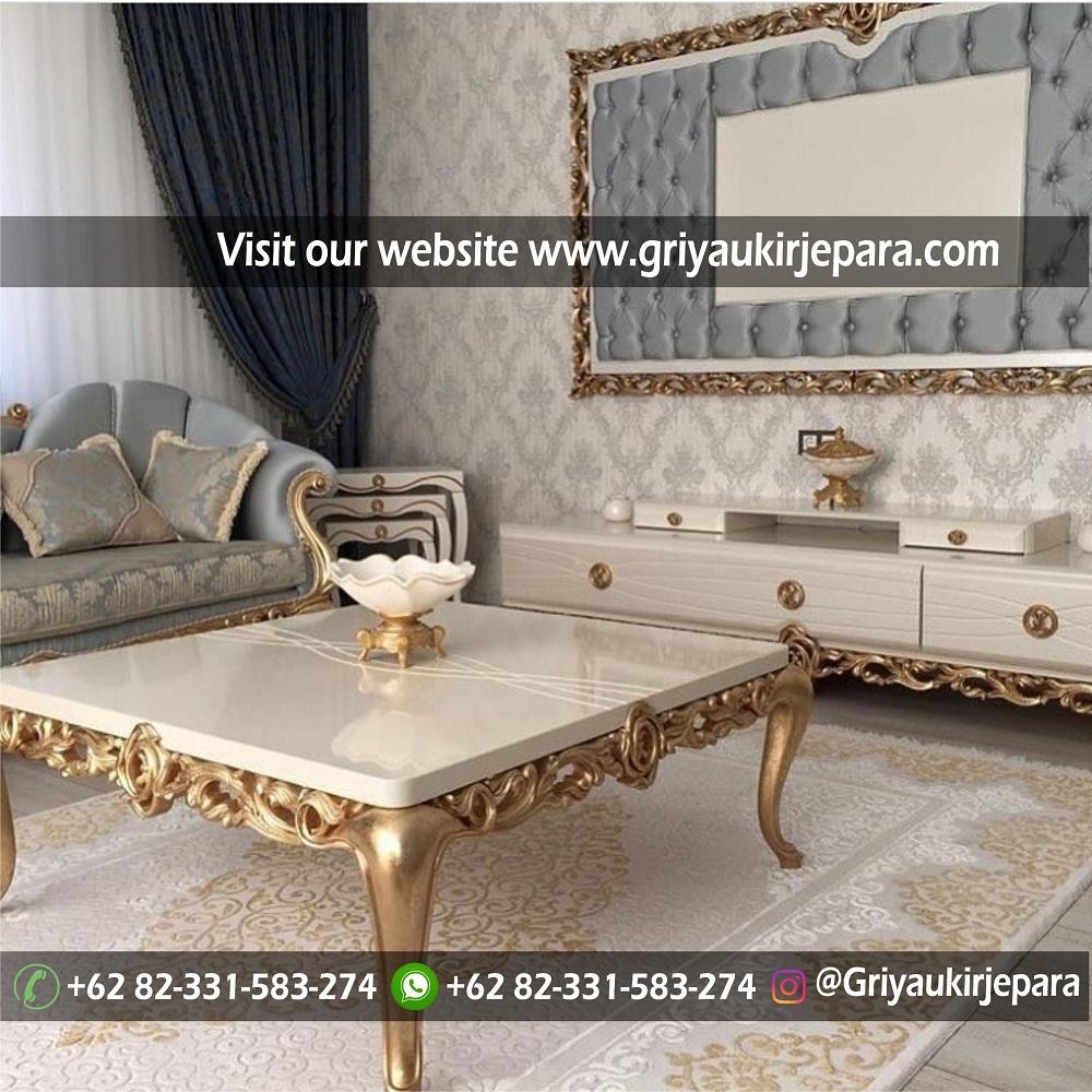 Sofa mewah 45 - 70 Sofa Ruang Tamu Jati Mewah Murah