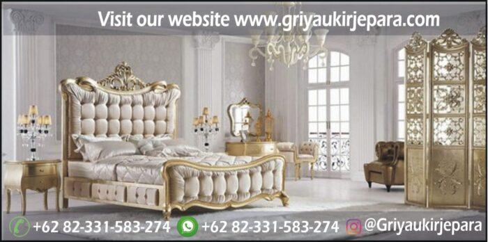 tempat tidur dipan modern jati jepara