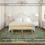 Dipan Tempat Tidur Modern Mewah Jepara