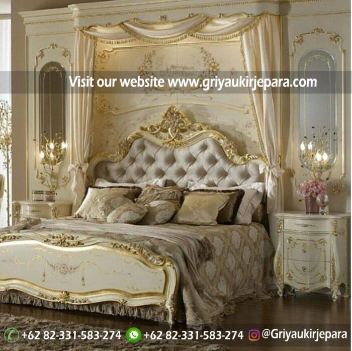Tempat tidur model modern mewah