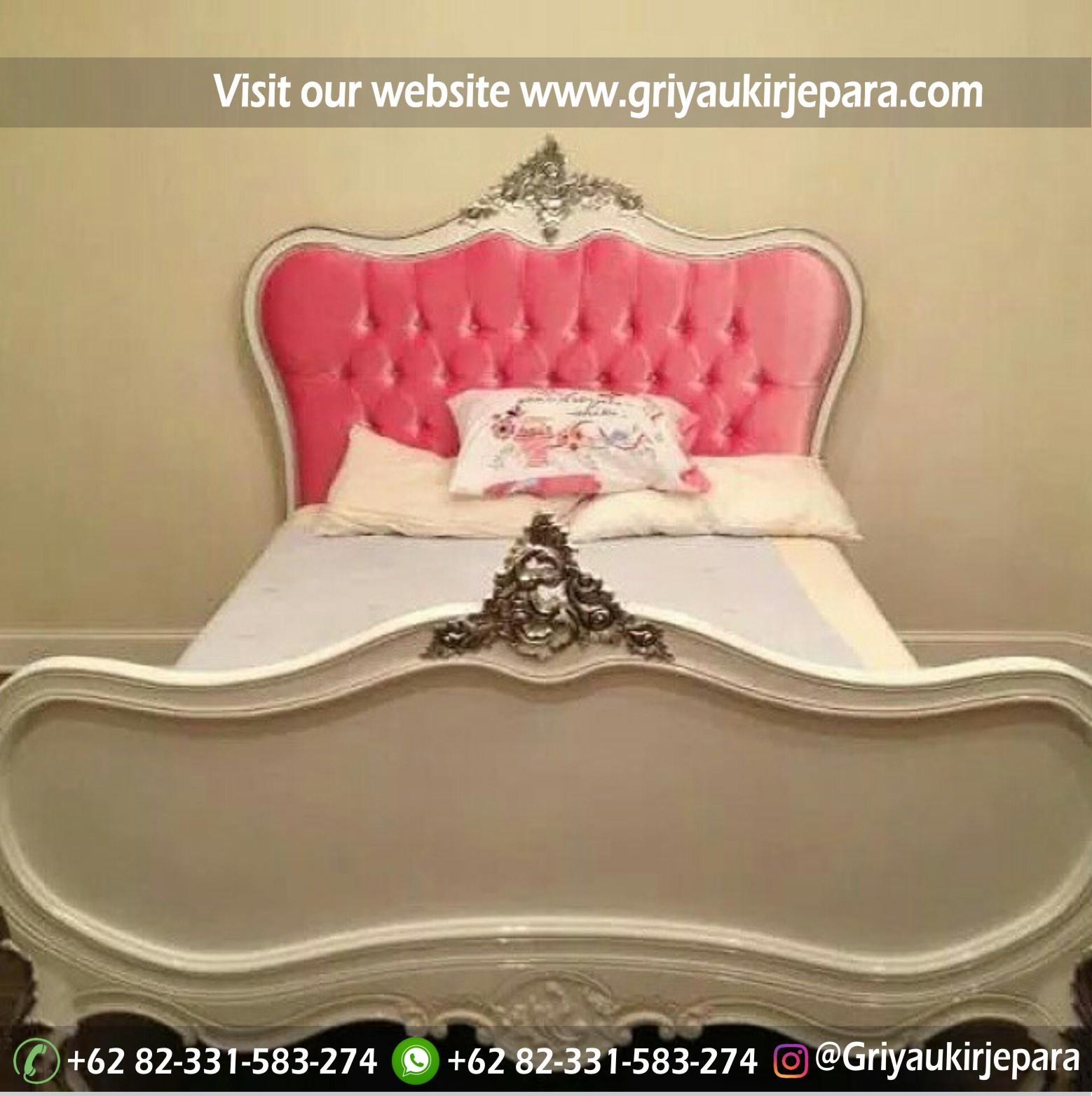 Tempat Tidur atau Dipan Modern Warna Putih kode BED 012