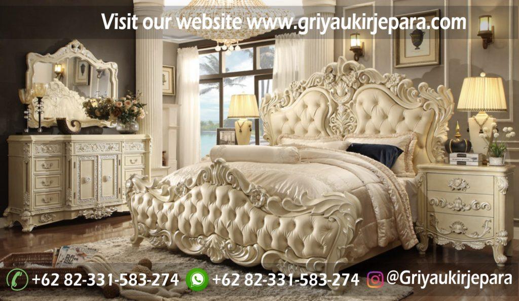 kamar set 41 1024x593 - Tempat Tidur Mewah Pricilia BED 025