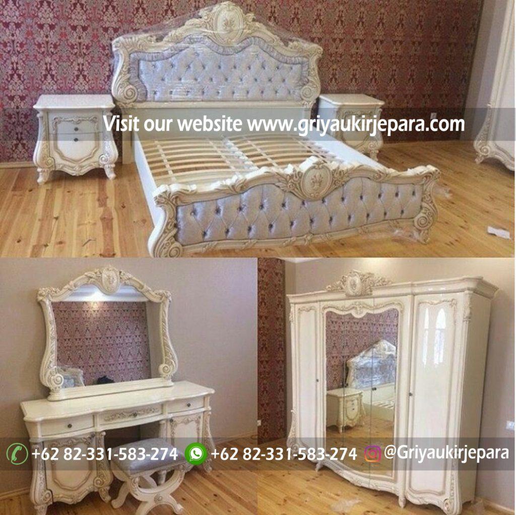 kamar set 46 1024x1022 - Ranjang Tempat Tidur Jati Ukiran Mewah BED 021