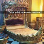 Tempat Tidur Mewah Raja & Ratu BED 022