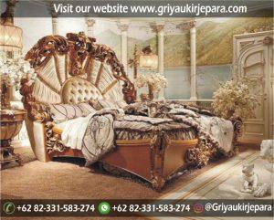 Tempat Tidur Jati Ukiran Mewah BED 019