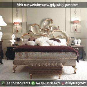 Tempat Tidur Jati Dipan Jati Modern Kode BED 016