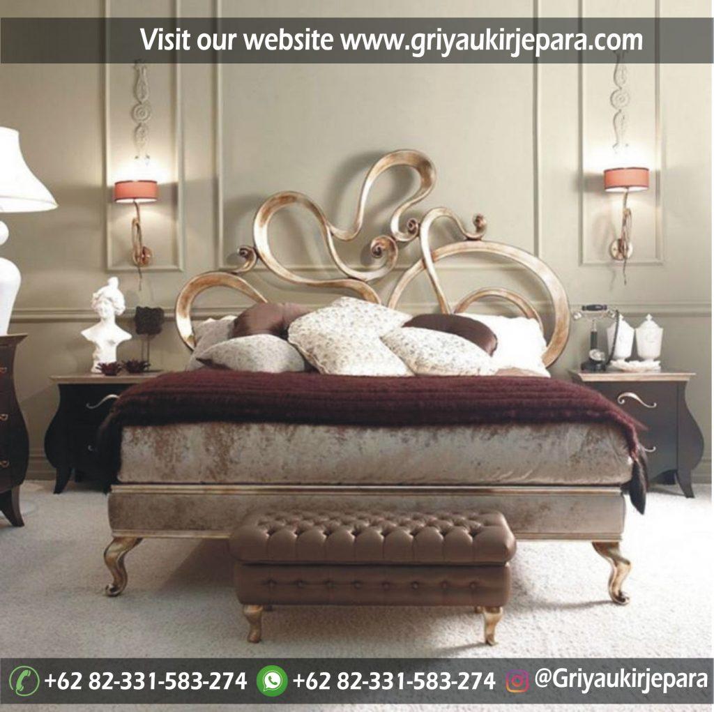 Tempat tidur Jati, Dipan Jati Modern Jepara