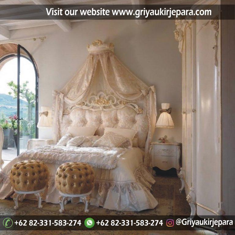 Tempat Tidur Mewah Model EROPA Kode Bed 015