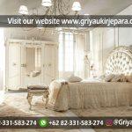 Tempat tidur / Kamar set mewah dan Modern Jati Jepara