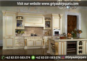 Kitchen Set Klasik Mewah KS-010
