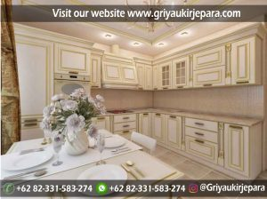 Kitchen Set Klasik Mewah KS-017
