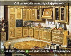 Kitchen Set Klasik Mewah KS-002