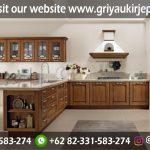 Model Kitchen Set Minimalis Mewah