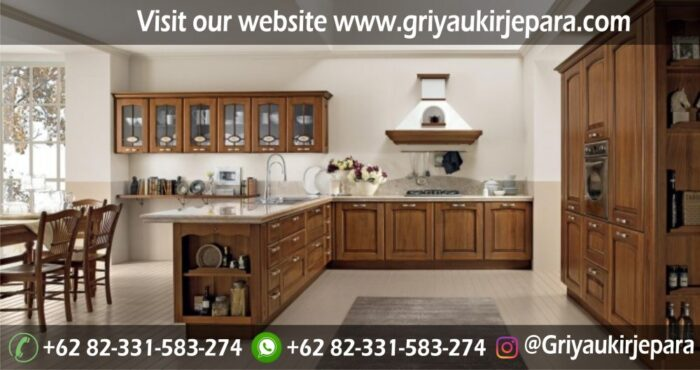 Model Kitchen Set Minimalis Mewah