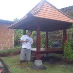 pemasangan gazebo 2 150x150 - pemasangan Furniture Lemari L modern