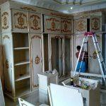 pemasangan lemari L 150x150 - pemasangan Furniture Lemari L modern