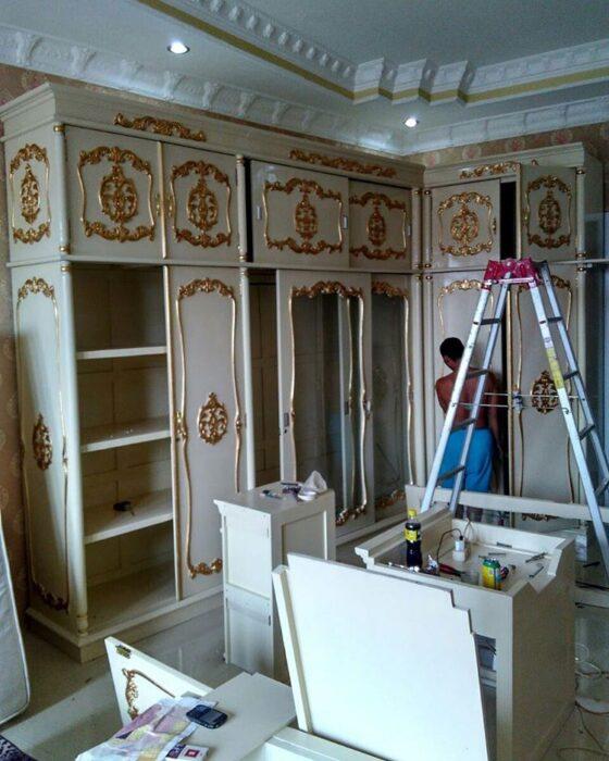 pemasangan lemari L - Testimoni Pemasangan Furniture