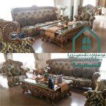 sofa romawi jati terbaru