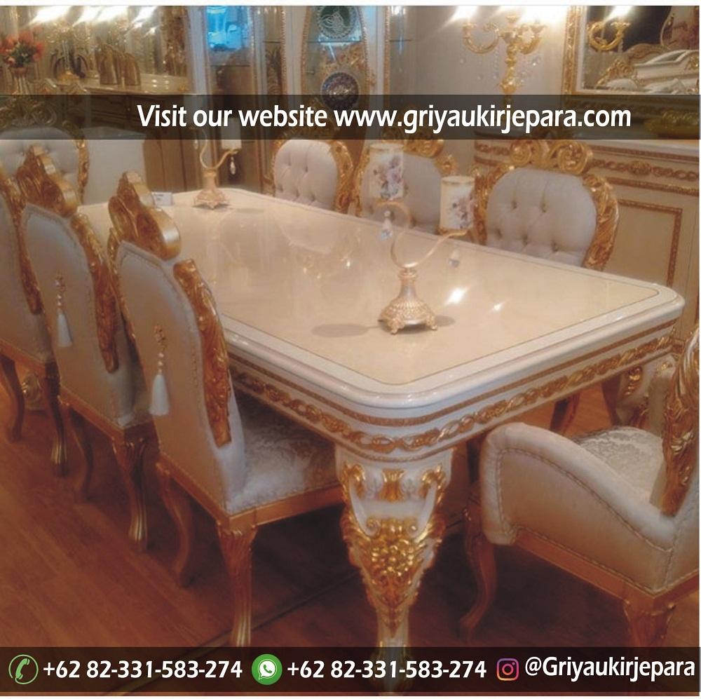 meja makan11 - 10+ Model Meja Makan 8 Kursi Modern Mewah