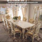 Gambar : Meja Makan Modern 8 Kursi