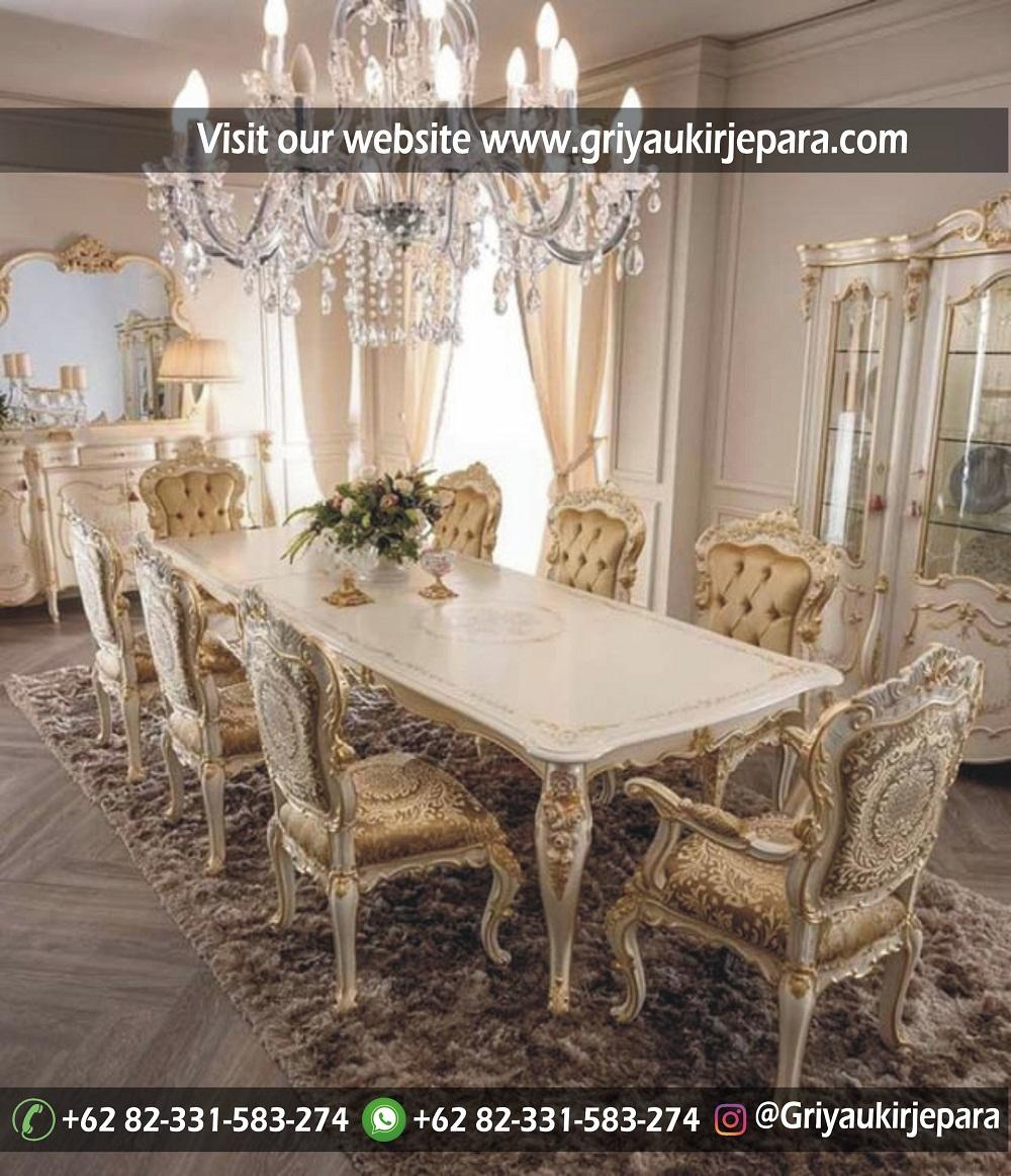 meja makan28 - 10+ Model Meja Makan 8 Kursi Modern Mewah