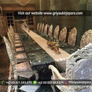 meja makan32 300x300 - Meja Makan Jati Minerva Mewah