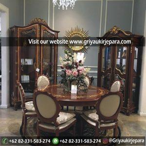 meja makan49 300x300 - Meja Makan Jati 4 Kursi Veneer Inlay