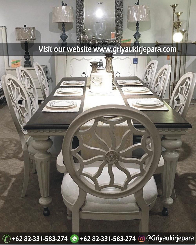 meja makan8 - 10+ Model Meja Makan 8 Kursi Modern Mewah