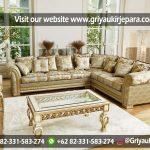 10 Model Sofa Sudut Jati Untuk Ruang Tamu