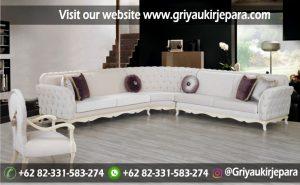 10+ Sofa Ruang Tamu Sudut Jati Murah
