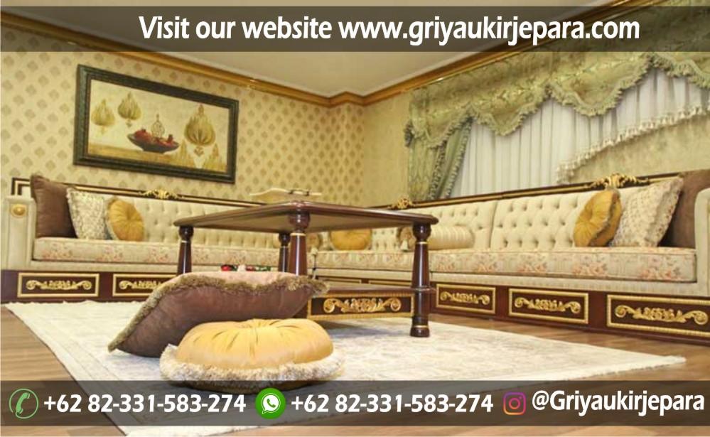 sofa sudut jati 6 - 10+ Sofa Ruang Tamu Sudut Jati Murah
