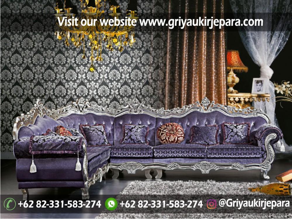 sofa sudut jati - 10+ Sofa Ruang Tamu Sudut Jati Murah