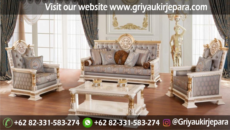sofa tamu terbaru mewah - 50+ Sofa Ruang Tamu Jati Murah