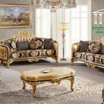 sofa ruang tamu terbaru mewah