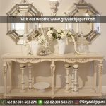 10+ Model Meja Konsul Jati Furniture Jepara