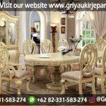 meja makan kursi 6 terbaru