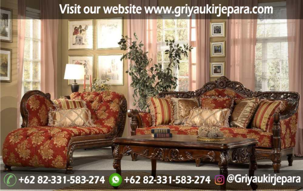 Sofa Ruang Tamu Modern Griya Ukir Jepara 10 - 100+ Model Sofa Ruang Tamu Jati Mewah