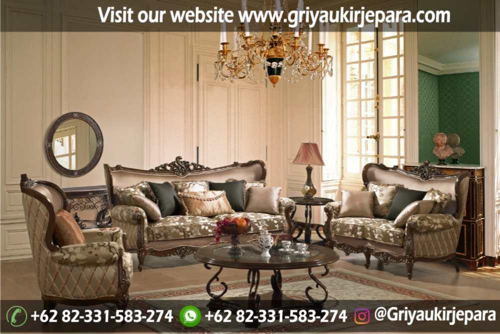 Sofa Ruang Tamu Modern Griya Ukir Jepara 12 - Sofa Ruang Tamu Jati Klasik Mewah