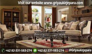 Sofa Ruang Tamu Modern Griya Ukir Jepara 19 300x176 - 100+ Model Sofa Ruang Tamu Jati Mewah