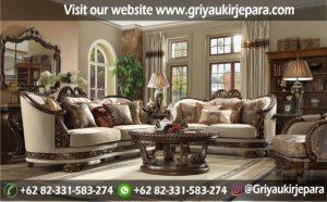 Sofa Ruang Tamu Modern Griya Ukir Jepara 21 300x186 - 100+ Model Sofa Ruang Tamu Jati Mewah