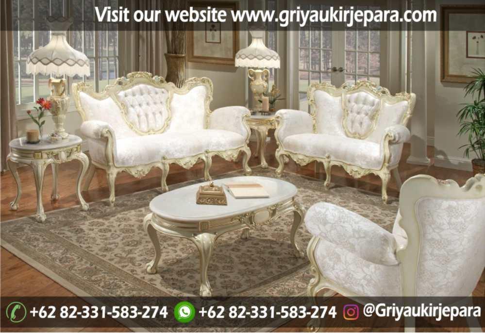 Sofa Ruang Tamu Modern Griya Ukir Jepara 22 - 100+ Model Sofa Ruang Tamu Jati Mewah