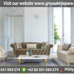 Sofa Ruang Tamu Mewah Jepara – SRT 103